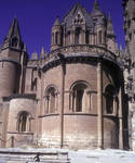 Salamanca, Old Cathedral, 12th century, Romanesque architecture, Spain