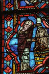 Angers Cathedral, St. Maurice, Saint Maurille Windows, Choir, east end, 13th century, Gothic stained glass, France.