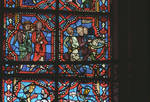 Angers Cathedral, St. Maurice, Saint Maurille Windows, Choir, east end, 13th century, Gothic stained glass, France. by Stuart Henry Rosenberg