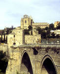 San Juan de los Reyes, Toledo, exterior view