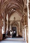 San Juan de los Reyes, Toledo, view of cloister