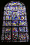 Canterbury Cathedral, Second Typological Window, North Choir Aisle, n. XV Gothic stained glass, late 12th century, England
