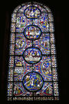 Canterbury Cathedral, Third Typological Window, North Choir Aisle, n. XIV, Gothic stained glass, late 12th century, England.