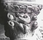 San Julian and Santa Basilisa, Parish Church of; capital sculpture