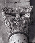 San Quirce, Monastery, late 11th-12th centuries, Romanesque architecture and sculpture, Burgos, Spain