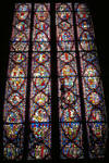 Sainte Chapelle, stained glass, choir chapel, Rayonnant Style, Gothic, Paris, France