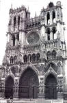Amiens Cathedral, West facade by William J. Smither