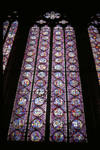 Sainte Chapelle, stained glass, choir chapel