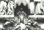 Amiens Cathedral, Vierge Doree detail