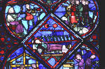 Bourges Cathedral, Life of Joseph (the Patriarch) Window (detail)