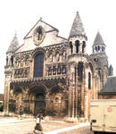Poitiers, Church of Notre-Dame le Grande, west facade