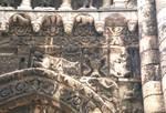 Poitiers, Church of Notre Dame le Grande, west facade (detail)