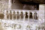 San Juan de la Pena (St. John of the Rock), 15th century Gothic Chapel of San Victorian, north side of the cloisters