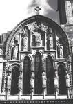 Vezelay, Sainte-Marie-Madeleine, center of west facade