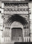 Sangueza, Church of Santa Maria la Real, south portal, Last Judgment