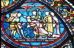 Stained glass from Tours