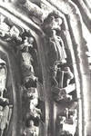 Burgos Cathedral, north transept portal, apex, archivolts