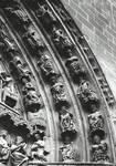 Burgos Cathedral, south transept portal (Puerta del Sarmental), archivolts