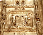 Burgos Cathedral, Coat of Arms, (Capilla del Condestable) east end