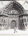 Burgos Cathedral,  north transept portal (Puerta de los Apostoles)