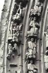 Burgos Cathedral, north transept portal archivolts