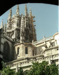 Burgos Cathedral, lantern crossing tower
