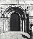 Santa Marta de Tera Parish Church, west portal