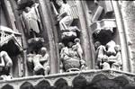 Burgos Cathedral, north transept portal, archivolts