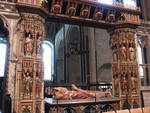 Canterbury Cathedral, Transi Tomb (cadaver tomb) of Henry Chichele, Archbishop of Canterbury