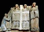 Santiago de Compostela, Angels with Instruments of the Passion, Portico della Gloria