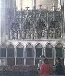 Amiens Cathedral, choir screen