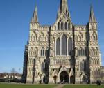 Salisbury Cathedral, West facade