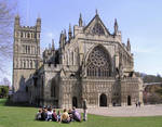 Exeter Cathedral exterior