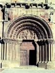 Santo Domingo, Soria, portal, west facade