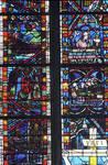 Rouen Cathedral, Les Belles verrieres windows (detail)