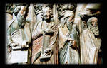 Santiago de Compostela, Portico della Gloria, Prophets