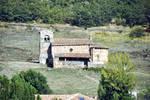 Alto Campo, view of small church
