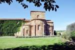 Monasterio de Santa Maria de Mave, exterior view with apses