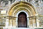 Church of Santa Maria, Piasca, Cabezon de Liebana, Portal, Cantabria, Spain