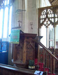 Catfield, All Saints Parish Church, Norfolk, Pulpit