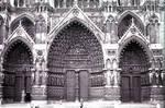 Amiens Cathedral, west facade portals