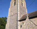 Burlingham (North), St. Andrew's Parish Church, Norfolk, UK, tower