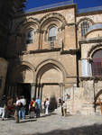 Church of the Holy Sepulchre, facade