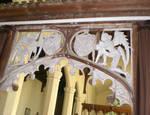 Burlingham (North), Parish Church of St. Andrew, Tower Screen, detail