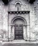 Colegiata de Santa Maria del Sar, portal