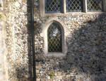 Burlingham (North), Parish Church of St. Andrew, lower window exterior of chancel