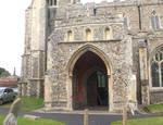 Hadleigh, PArish Church of St. Mary's, south porch