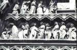 Amiens Cathedral, tympanum detail, south transept portal