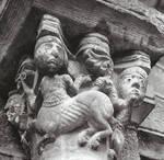 Le Puy-en-Velay, Cathedral of Notre Dame, centaur capital