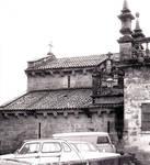 Santa Maria de la Corticela, 11th century, exterior, side aisle and nave.